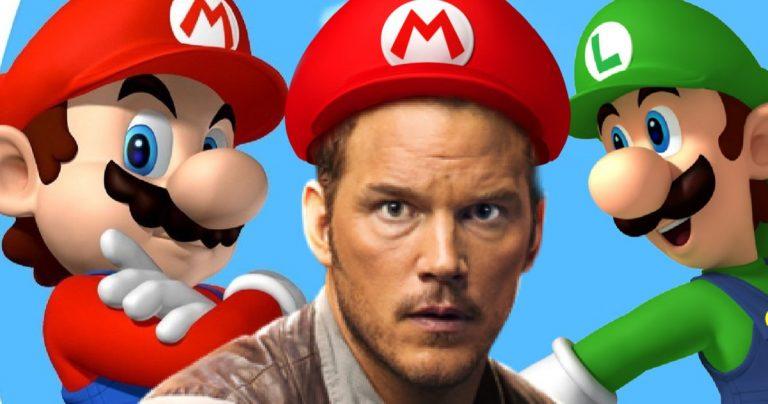 Chris Pratt joue dans le film d'animation Super Mario Bros. de Nintendo