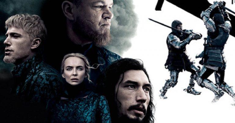 L'affiche de The Last Duel Payoff se prépare pour un combat à l'épée historique