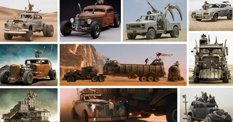 Les voitures Fury Road qui ont survécu au tournage sont mises aux enchères