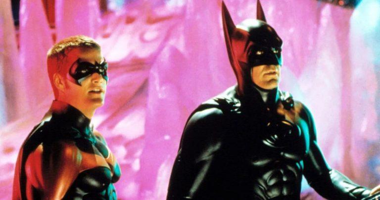 George Clooney affirme qu'il n'est pas dans le flash parce qu'il a détruit la franchise Batman
