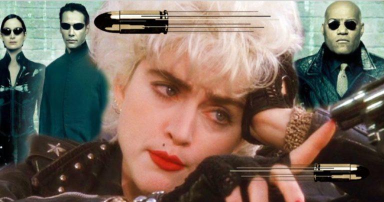 La matrice avait presque fait esquiver les balles de Madonna aux côtés de Keanu