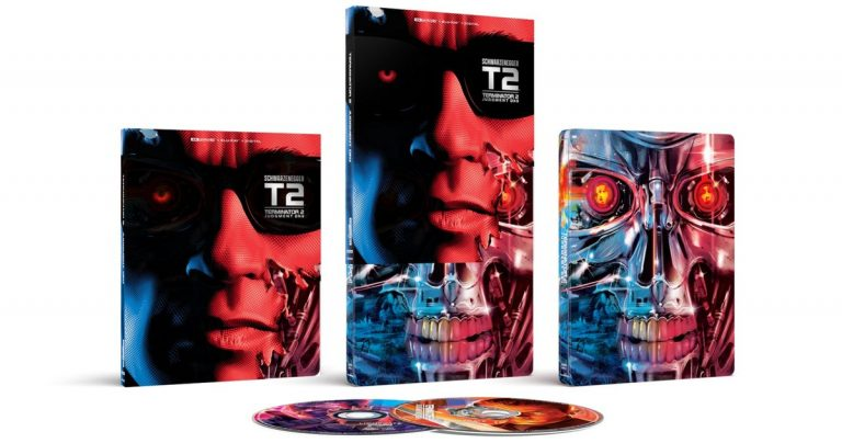 Terminator 2 Steelbook avec James Cameron a approuvé le transfert 4K arrive en novembre